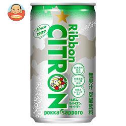 ポッカサッポロ Ribbon(リボン) シトロン 190ml缶×30本入