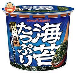 ポッカサッポロ 海苔たっぷりすうぷカップ入り 11.2g×24(6×4)個入