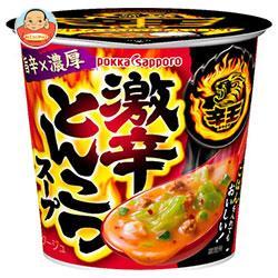 ポッカサッポロ 辛王 激辛とんこつスープカップ入り 18.9g×24(6×4)個入