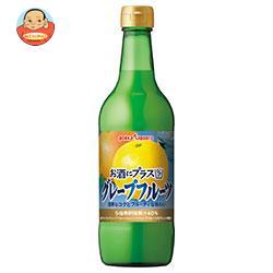 ポッカサッポロ お酒にプラス グレープフルーツ 540ml瓶×12(6×2)本入