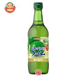 ポッカサッポロ お酒にプラス ライム 540ml瓶×12(6×2)本入