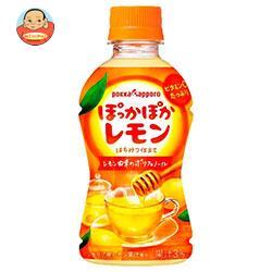 ポッカサッポロ 【HOT用】ぽっかぽかレモン 310mlペットボトル×24本入
