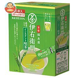 宇治の露製茶 伊右衛門 インスタント緑茶スティック 0.8g×30P×6箱入