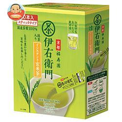 宇治の露製茶 伊右衛門 インスタント玄米茶スティック 0.8g×30P×6箱入