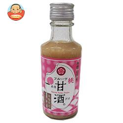 ふみこ農園 和歌山県産フルーツ甘酒白桃 180g瓶×20本入