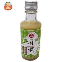 ふみこ農園 和歌山県産フルーツ甘酒南高梅 180g瓶×20本入