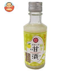 ふみこ農園 和歌山県産フルーツ甘酒柚子 180g瓶×20本入