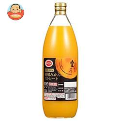 えひめ飲料 POM(ポン) 愛媛みかんストレート 1000ml瓶×6本入