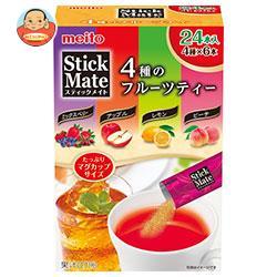 名糖産業 スティックメイトフルーツアソート 24P×6箱入