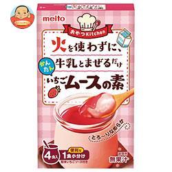 名糖産業 かんたんいちごムースの素 4P×6箱入