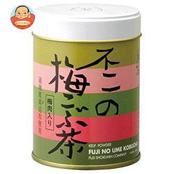 不二食品 不二の梅こぶ茶 60g缶×6個入