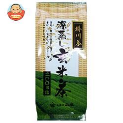 山城物産 掛川深蒸し茶 玄米茶 200g×20袋入