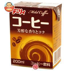 南日本酪農協同(株) デーリィ コーヒー 200ml紙パック×24本入
