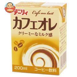 南日本酪農協同(株) デーリィ カフェ・オ・レ 200ml紙パック×24本入