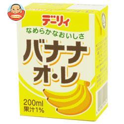 南日本酪農協同 デーリィ バナナ・オ・レ 200ml紙パック×24本入