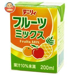 南日本酪農協同 デーリィ フルーツミックス 200ml紙パック×24本入