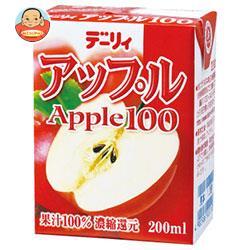 南日本酪農協同 デーリィ アップル100 200ml紙パック×24本入