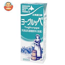 南日本酪農協同 北海道日高 ヨーグルッペ 200ml紙パック×24本入