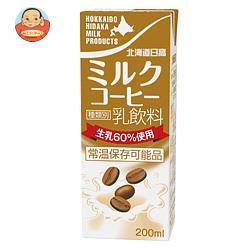 南日本酪農協同 北海道日高 ミルクコーヒー 200ml紙パック×24本入