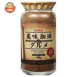 三本コーヒー 美味珈琲グルメ(フリーズドライ) 200g瓶×6本入