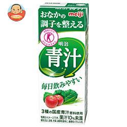 明治 明治 青汁【特定保健用食品 特保】 200ml紙パック×24本入