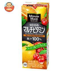 明治 Minute Maid(ミニッツメイド) 1日分のマルチビタミン オレンジ&アセロラMIX 200ml紙パック×24本入