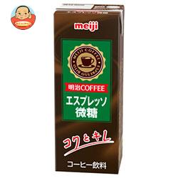 明治 COFFEE エスプレッソ微糖 200ml紙パック×24本入