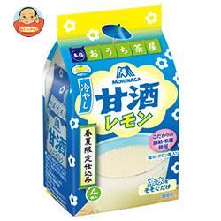 森永製菓 冷やし甘酒<レモン> 4袋×20袋入