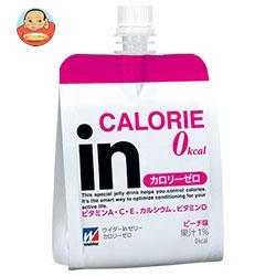 森永製菓 ウイダーinゼリー カロリーゼロ ピーチ 180gパウチ×36本入