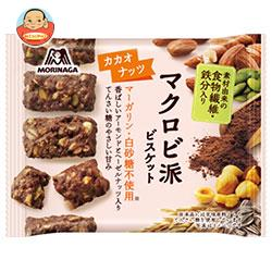 森永製菓 マクロビ派ビスケット<カカオナッツ> 37g×6袋入