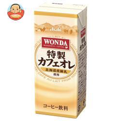 アサヒ飲料 WONDA(ワンダ) 特製カフェオレ 200ml紙パック×24本入