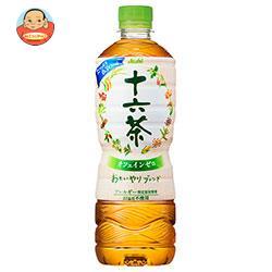 アサヒ飲料 十六茶(増量ボトル) 600mlペットボトル×24本入