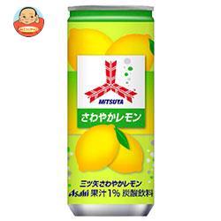 アサヒ飲料 三ツ矢 さわやかレモン 250ml缶×20本入