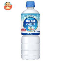 アサヒ飲料 おいしい水 プラス カルピスの乳酸菌【自動販売機用】 600mlペットボトル×24本入