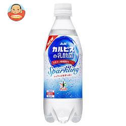 アサヒ飲料 おいしい水プラス カルピスの乳酸菌スパークリング 500mlペットボトル×24本入