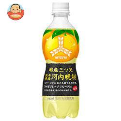 アサヒ飲料 特産三ツ矢 熊本県産河内晩柑 460mlペットボトル×24本入