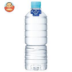 アサヒ飲料 おいしい水 天然水 ラベルレスボトル 600mlペットボトル×24本入