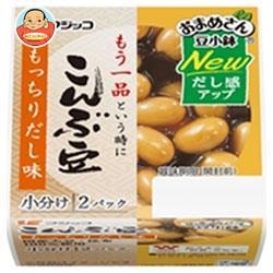 フジッコ おまめさん 豆小鉢 こんぶ豆 65g×2パック×12個入