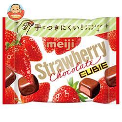 明治 ストロベリーチョコレートCUBIE(キュービィ) 28g×10袋入