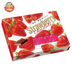 明治 ストロベリーチョコレートBOX 26枚×6箱入