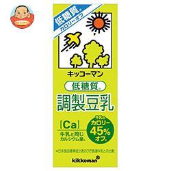 キッコーマン カロリー45%オフ 調製豆乳 200ml紙パック×18本入