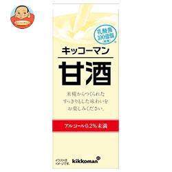 キッコーマン 甘酒 200ml紙パック×18本入