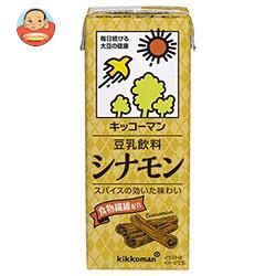 キッコーマン 豆乳飲料 シナモン 200ml紙パック×18本入