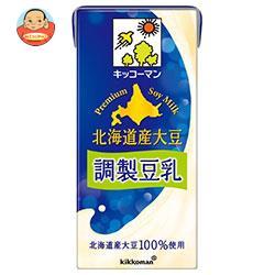 キッコーマン 北海道産大豆 調整豆乳 1000ml紙パック×12(6×2)本入