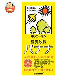 キッコーマン 豆乳飲料 バナナ 1000ml紙パック×12(6×2)本入