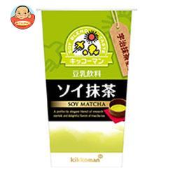キッコーマン 豆乳飲料 ソイ抹茶 200ml×12本入