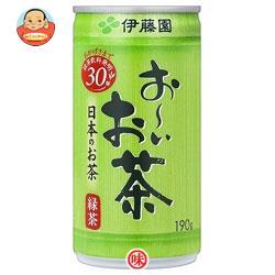 伊藤園 お~いお茶 緑茶 190g缶×30本入