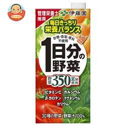 伊藤園 1日分の野菜 1L紙パック×12(6×2)本入
