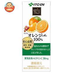 伊藤園 ビタミンフルーツ オレンジMix 100% 200ml紙パック×24本入