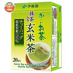 伊藤園 お~いお茶 抹茶入り玄米茶 ティーバッグ 20袋入×20袋入